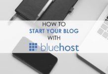 How To Start Your Blog With Bluehost